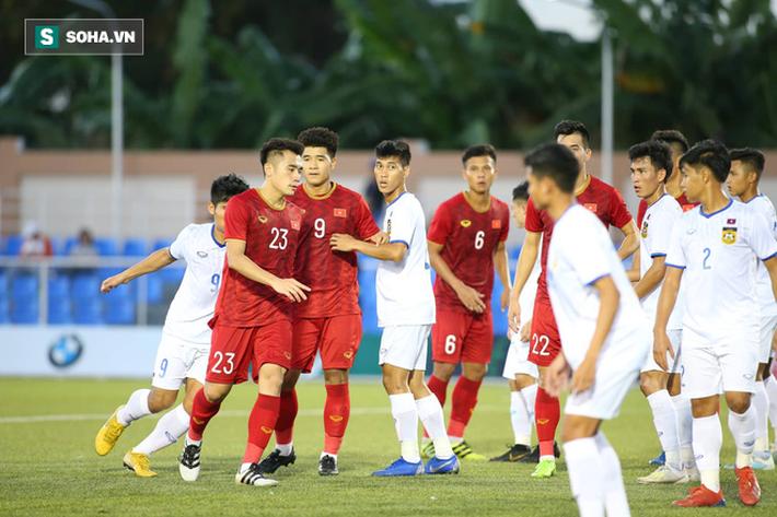 Cựu danh thủ Quốc Vượng: Trận thắng Lào không có gì ấn tượng về lối chơi cả! - Ảnh 1.