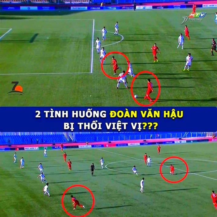 CĐV Việt Nam bức xúc vì trọng tài cướp bàn thắng của Đoàn Văn Hậu - Ảnh 1.