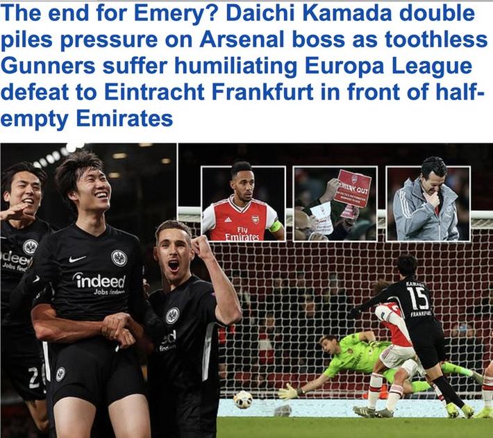 Unai Emery hết phép, số phận Arsenal trôi nổi khó lường - Ảnh 6.