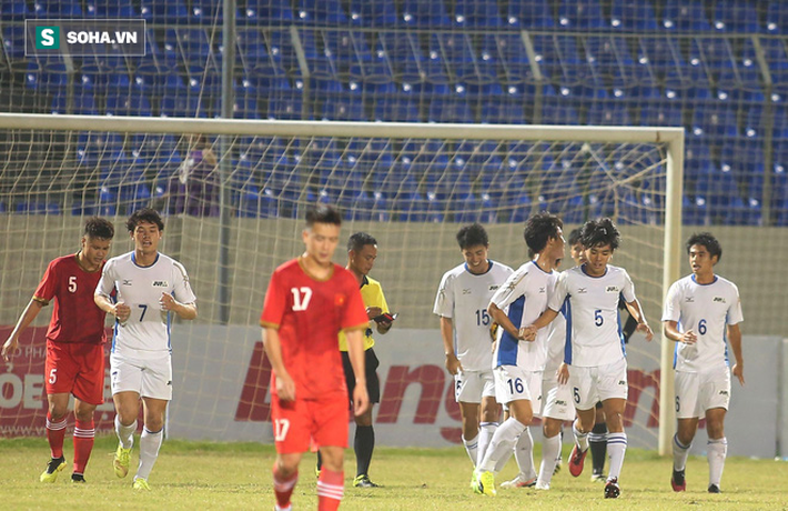 Thầy Park đến dự khán, U21 Việt Nam thua cay đắng trước đội vô địch Sinh viên thế giới - Ảnh 1.