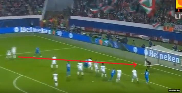 Cả năm mới có quả đá phạt ra tấm ra món, nhưng Ronaldo bị đồng đội cướp mất bàn thắng - Ảnh 2.