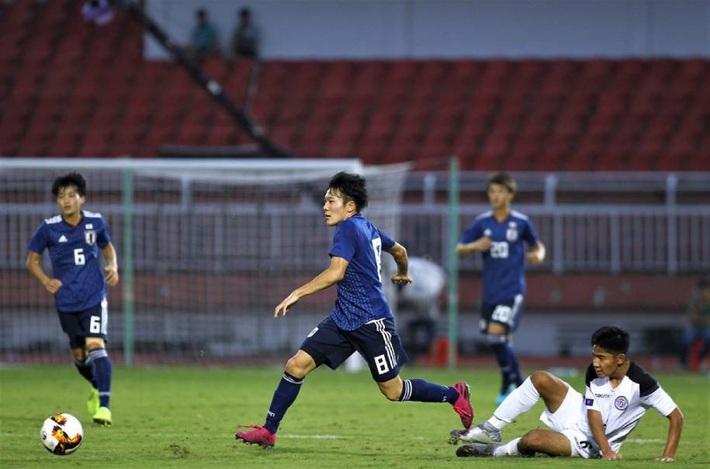 Thắng hủy diệt 9-0, Nhật Bản gây áp lực lên Việt Nam ở giải châu Á - Ảnh 1.