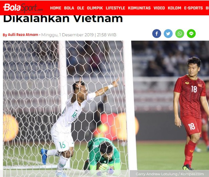 """Báo Indonesia: """"Trận thua này thật đau đớn nhưng chúng ta phải chấp nhận"""" - Ảnh 2."""