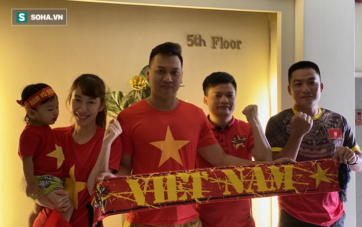 CĐV Việt Nam đổ bộ Manila từ nhiều nơi, chờ thầy trò HLV Park Hang-seo mở hội - Ảnh 2.