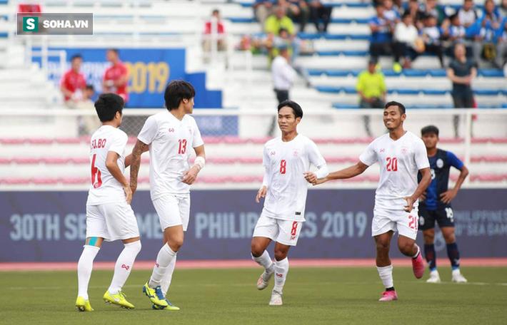 Sao gốc Việt chết đứng trên chấm 11m, Campuchia mất huy chương SEA Games đầy tiếc nuối - Ảnh 4.