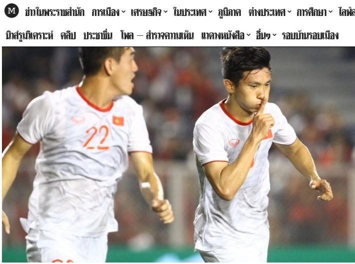 """Báo Thái Lan: """"Cách mà Việt Nam vô địch SEA Games thật vĩ đại!"""" - Ảnh 1."""