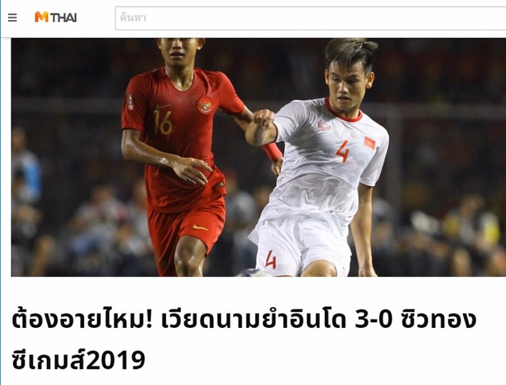 """Báo Thái Lan: """"Cách mà Việt Nam vô địch SEA Games thật vĩ đại!"""" - Ảnh 2."""