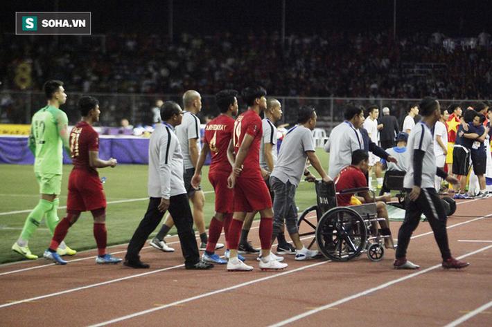 Khiến Messi Indonesia gặp chấn thương, Đoàn Văn Hậu đến tận nơi xin lỗi - Ảnh 1.