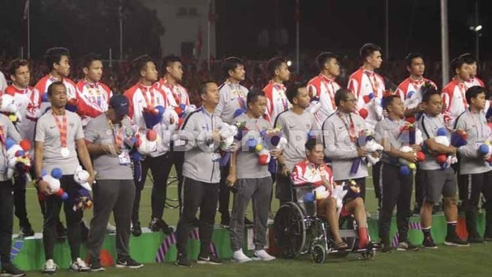 Cầu thủ Indonesia bị gãy xương vì trận gặp U22 Việt Nam, không phải Evan Dimas - Ảnh 1.