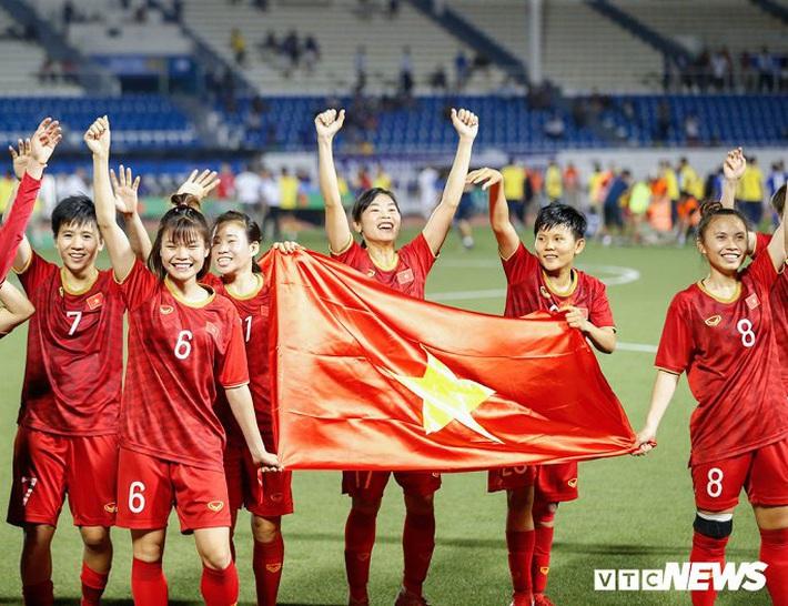 Tuyển bóng đá nữ Việt Nam nhận thưởng 22 tỷ đồng, sẵn sàng hướng tới vòng loại Olympic - Ảnh 1.