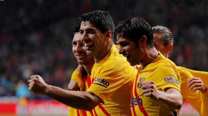 Kết quả bóng đá Atletico Madrid 0-1 Barca: Messi kéo sập Wanda Metropolitano - Ảnh 1.