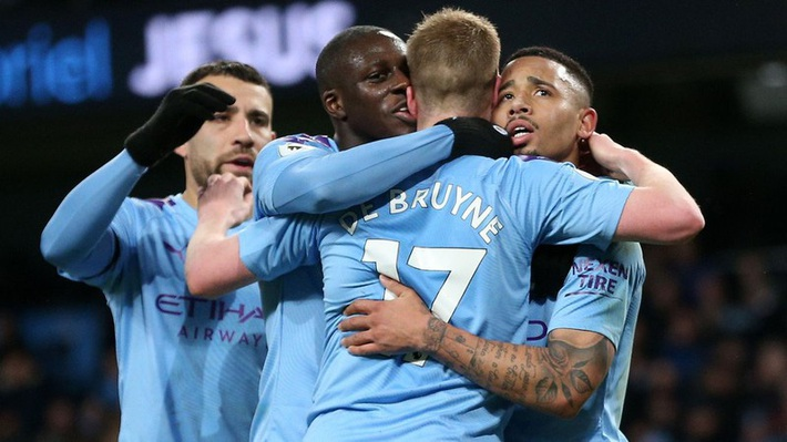 Mahrez gieo sầu cho đội bóng cũ, Man City thắng ngược Leicester - Ảnh 1.