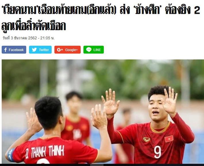 """Báo Thái Lan lo lắng: """"Chúng ta lại mệt mỏi với Việt Nam rồi!"""" - Ảnh 3."""