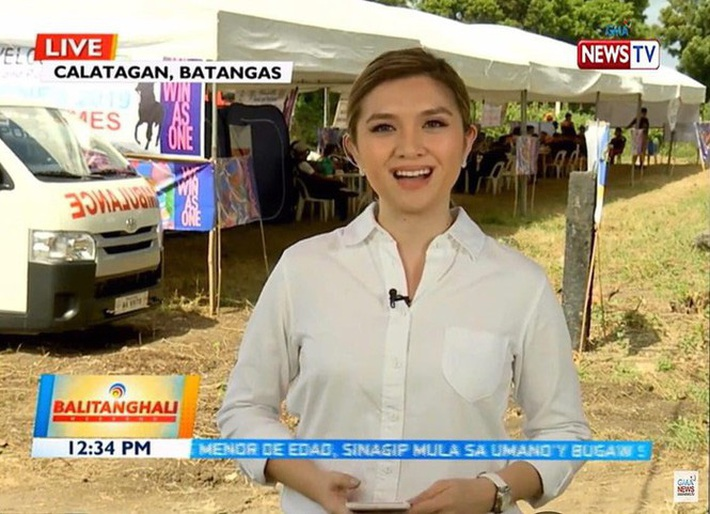 Nữ phóng viên Philippines phát ngôn sốc về SEA Games 30 là ai? - Ảnh 1.