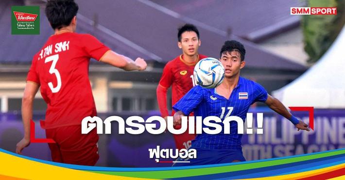 """Báo Thái Lan đau đớn, thừa nhận """"nước mắt rơi"""" khi bị loại ngay từ vòng bảng - Ảnh 1."""
