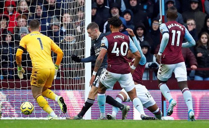 Mở đại tiệc Villa Park, Leicester thắng trận thứ 8 Ngoại hạng Anh - Ảnh 3.