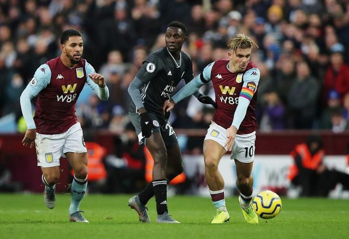 Mở đại tiệc Villa Park, Leicester thắng trận thứ 8 Ngoại hạng Anh - Ảnh 5.