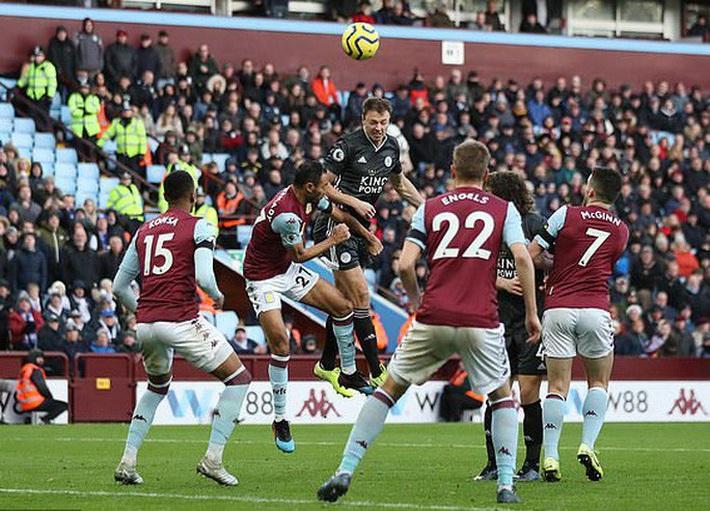 Mở đại tiệc Villa Park, Leicester thắng trận thứ 8 Ngoại hạng Anh - Ảnh 6.