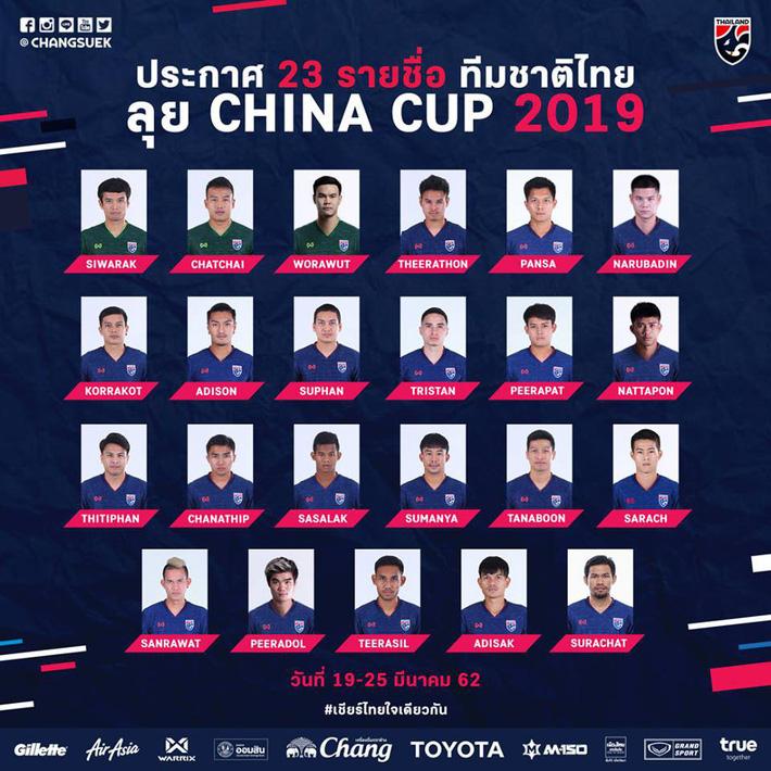 """Triệu tập tinh binh, HLV Thái Lan tuyên bố sẽ làm Trung Quốc """"ôm hận"""" ngay trên sân nhà - Ảnh 2."""