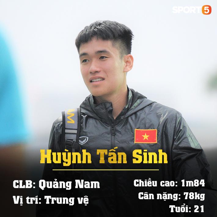 Info 23 cầu thủ U23 Việt Nam, những người mang trọng trách viết tiếp lịch sử bóng đá nước nhà - Ảnh 12.