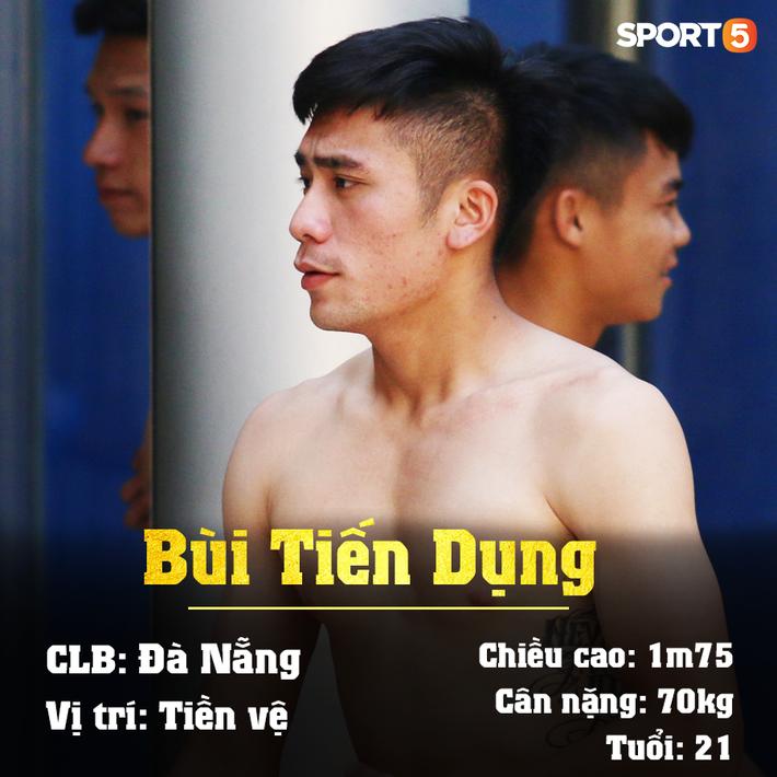 Info 23 cầu thủ U23 Việt Nam, những người mang trọng trách viết tiếp lịch sử bóng đá nước nhà - Ảnh 17.
