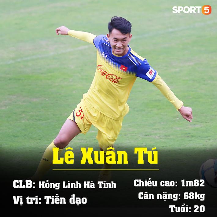 Info 23 cầu thủ U23 Việt Nam, những người mang trọng trách viết tiếp lịch sử bóng đá nước nhà - Ảnh 10.
