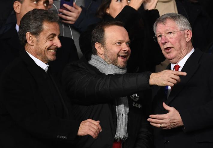 Xúc động hình ảnh cha già Alex Ferguson mỉm cười mãn nguyện, nhìn đàn con MU làm nên kỳ tích trước PSG - Ảnh 4.
