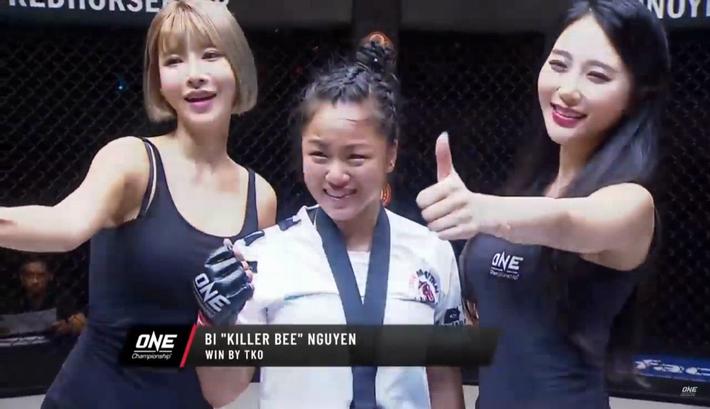Người đẹp gốc Việt hạ gục đối thủ Indonesia ở sàn MMA danh giá nhất châu Á - Ảnh 6.