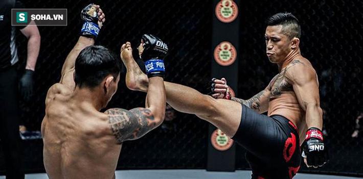 Báo Mỹ kinh ngạc với pha lên gối ngoạn mục của võ sĩ gốc Việt Martin Nguyễn - Ảnh 2.