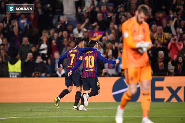 """De Gea bị báo Anh đánh giá là """"thảm họa"""" vì để Messi chọc thủng lưới theo cách ngớ ngẩn - Ảnh 1."""