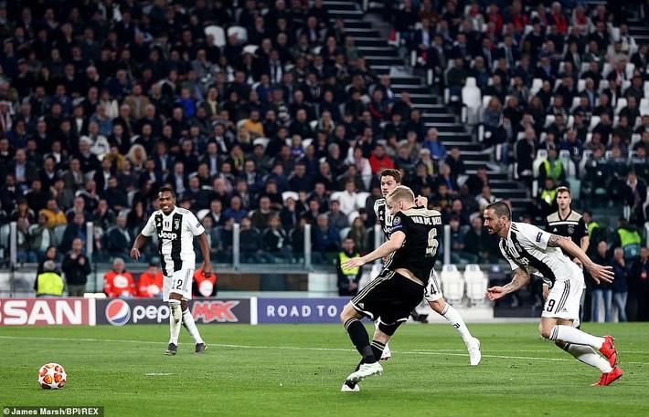 Ronaldo lập công, nhưng Juventus phải quỳ gối trước vũ điệu siêu đẳng của Ajax - Ảnh 2.