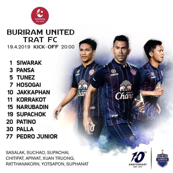 Xuân Trường dự bị, Buriram United gây thất vọng lớn ngay trên sân nhà - Ảnh 4.