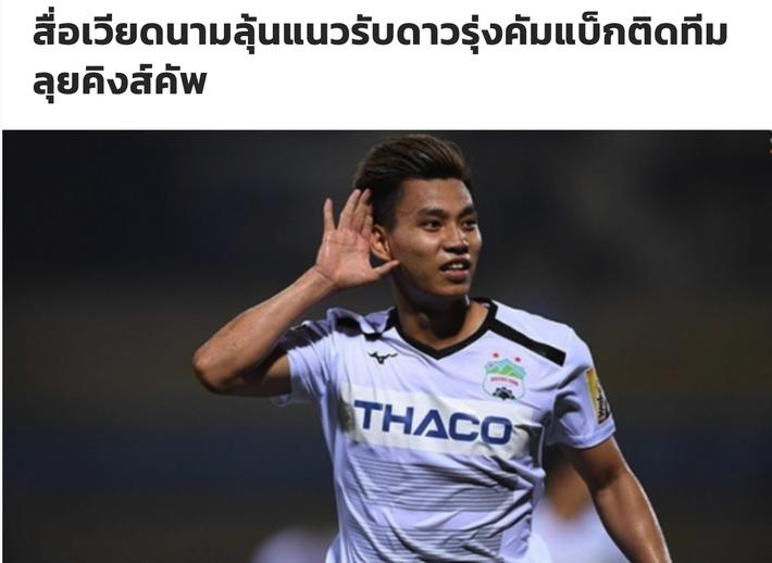 Báo chí Thái Lan e dè cảnh báo đội nhà sau màn trở lại rực rỡ của Văn Thanh - Ảnh 1.