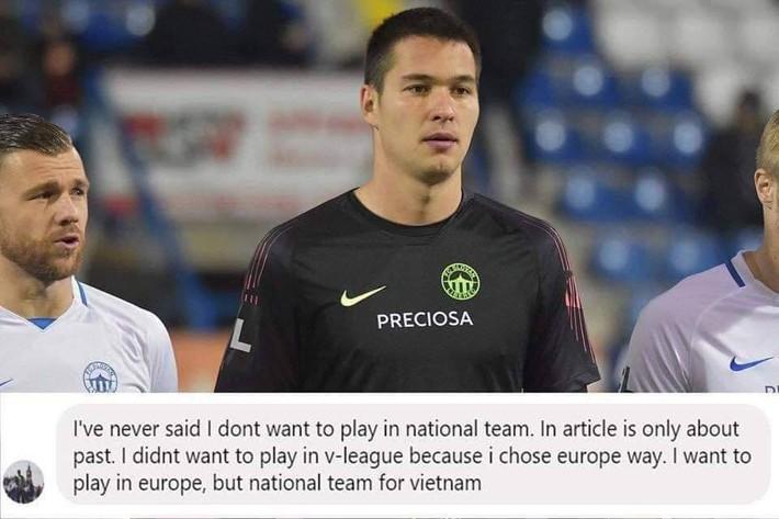 Filip Nguyễn bức xúc, phản pháo tin đồn từ chối thi đấu cho ĐT Việt Nam - Ảnh 1.