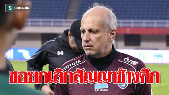 Nóng: HLV Gama có thể chấm dứt hợp đồng ở U23 Thái Lan để về làm thầy Đặng Văn Lâm - Ảnh 1.