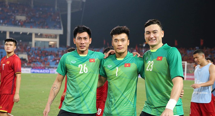 Kings Cup 2019: HLV Park Hang-seo sẽ thay đổi một loạt thủ môn? - Ảnh 1.