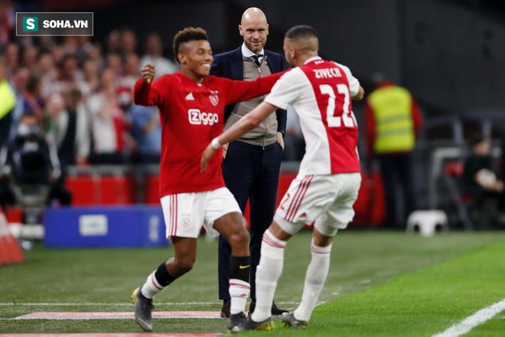 Ajax trở lại đỉnh cao nhờ kẻ bất tài trong mắt cha và yêu thơ của Louis van Gaal mê mệt - Ảnh 6.