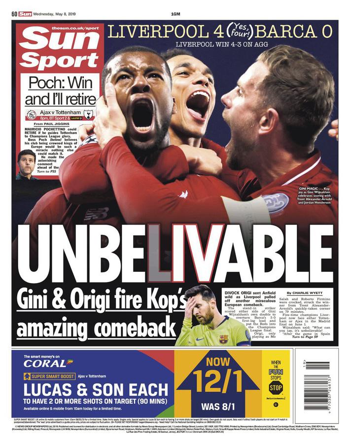 Báo chí thế giới ngả mũ thán phục, hết lời ca ngợi màn ngược dòng thần thánh của Liverpool - Ảnh 7.