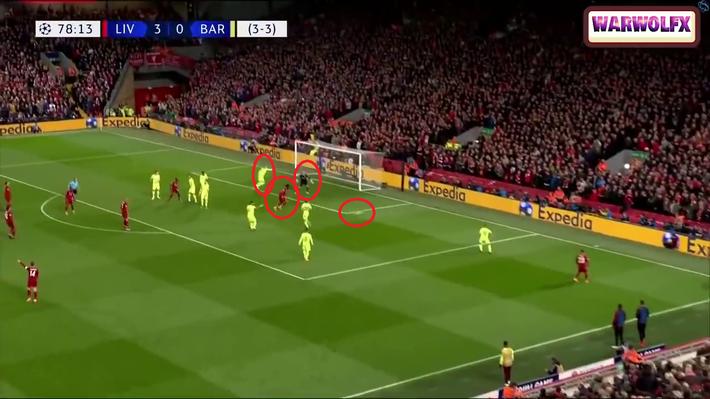 Cận cảnh quả đá phạt góc thiên tài của Liverpool khiến Messi thẫn thờ, uất hận - Ảnh 5.