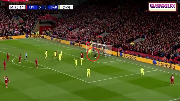 Cận cảnh quả đá phạt góc thiên tài của Liverpool khiến Messi thẫn thờ, uất hận - Ảnh 6.