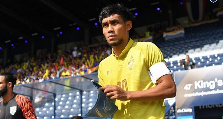 Thủ quân tuyển Thái Lan thất vọng về trận cầu đặc biệt của mình tại Kings Cup 2019 - Ảnh 1.