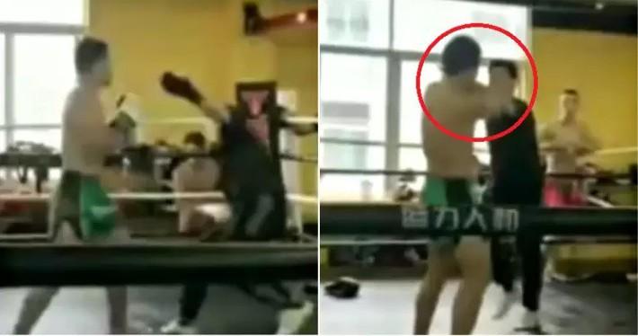 Thất bại ô nhục, võ sư Thiếu Lâm giả vờ bắt tay rồi… chọc vào mắt võ sĩ MMA - Ảnh 3.