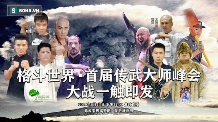 """Cao thủ Thiếu Lâm """"hạ sơn"""", Trung Quốc xuất hiện """"đại hội võ lâm"""" mới chưa từng có - Ảnh 1."""