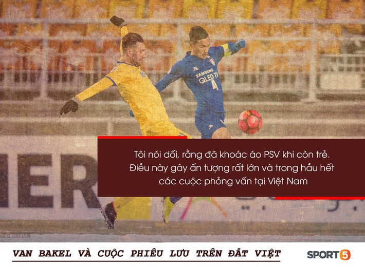 """Bóng đá Việt qua mắt cầu thủ ngoại (kỳ 2): """"Để tồn tại, tôi phải nói dối đã khoác áo PSV và đánh bại những người uống máu rắn"""" - Ảnh 1."""