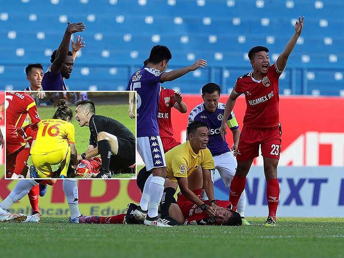 Liên tục cứu mạng cầu thủ, trọng tài Việt được vinh danh ở đề cử Fair Play 2019 - Ảnh 1.