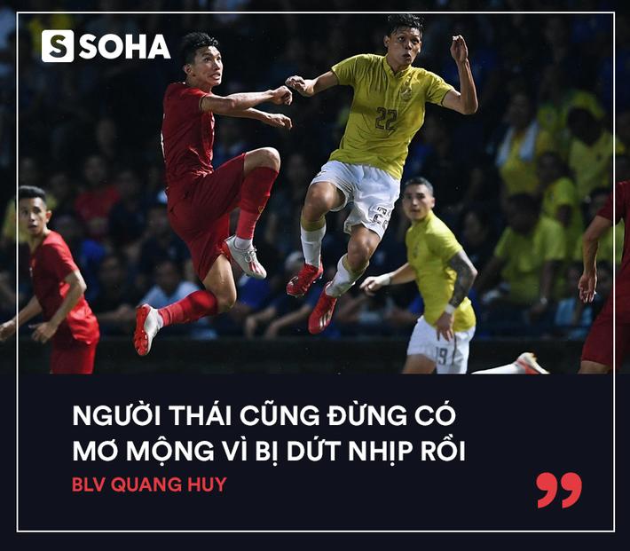 BLV Quang Huy: Việt Nam đang dẫn trước nhưng không lạ khi gặp lại, Thái Lan thắng chúng ta - Ảnh 5.