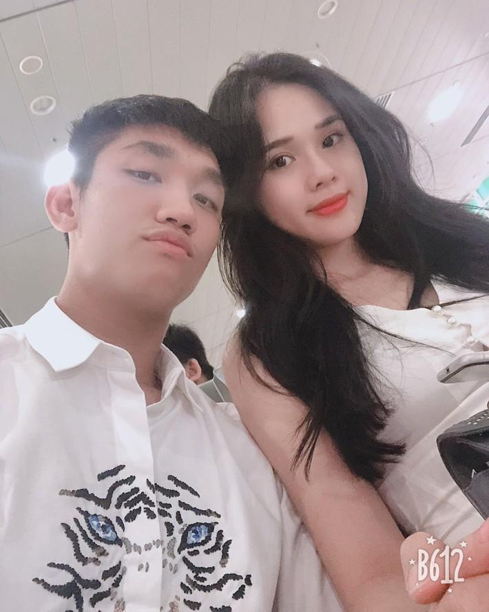 Trọng Đại và bạn gái Huyền Trang: Nghi vấn rạn nứt tình cảm vì tham vọng thi hoa hậu - Ảnh 1.