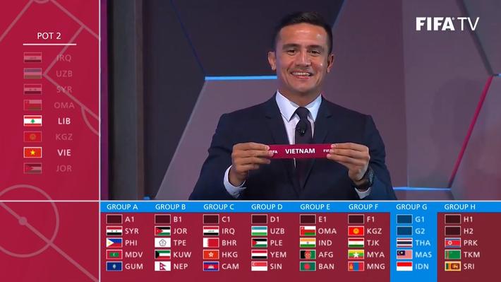 Bốc thăm Vòng loại World Cup 2022: Việt Nam gặp Thái Lan trong bảng đấu tử thần - Ảnh 3.