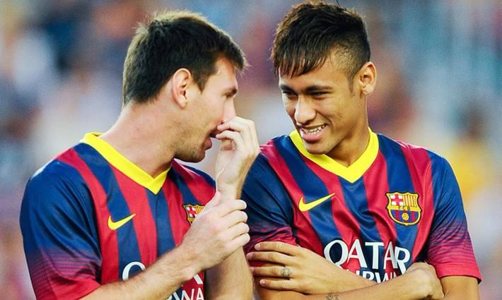 Messi chỉ đạo Barca đưa ngay Neymar trở lại - Ảnh 1.