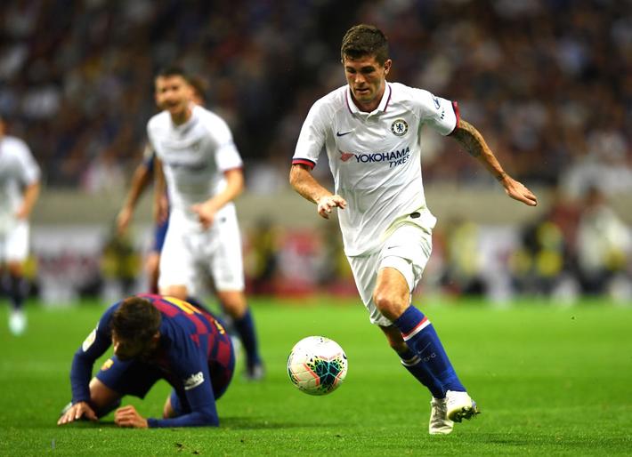 Sai lầm của đồng đội mới khiến trai đẹp Griezmann ra mắt bằng trận thua đau đớn trước Chelsea - Ảnh 4.